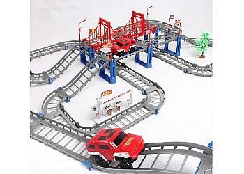 Tor samochodowy -kolejka ,wspaniała zabawka dla chłopców w różnym wieku
