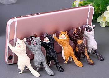 Uchwyt do telefonu w kształcie kotka