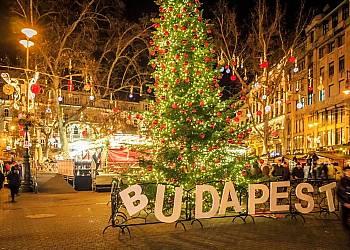 Jarmark Bożonarodzeniowy w Budapeszcie