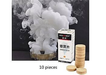 Biały dym w tabletkach