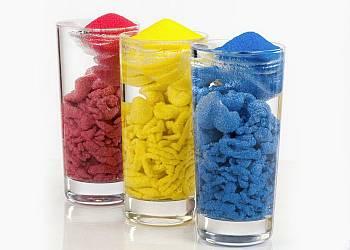 Kolorowy, magiczny piasek