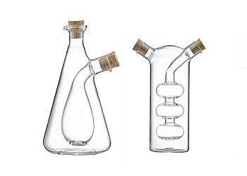 Dozownik 2 w 1. Butelka na ocet oraz oliwę