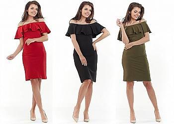 Sukienka modelująca sylwetkę