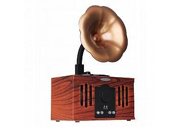 Bezprzewodowy głośnik retro style