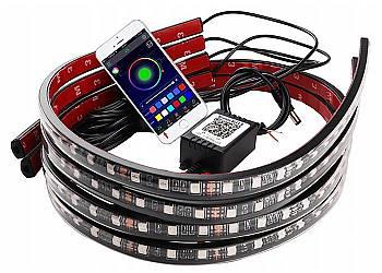 Zestaw LED do oświetlenia podwozia samochodu