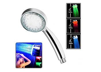 Słuchawka prysznicowa LED