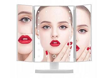 Podświetlane lusterko do make-up